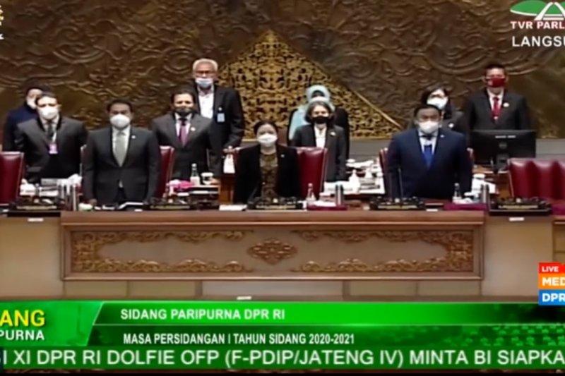 DPR RI sahkan UU APBN 2021