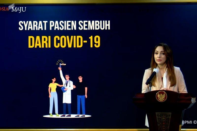 Reisa jelaskansyaratpasien COVID-19dinyatakansembuh