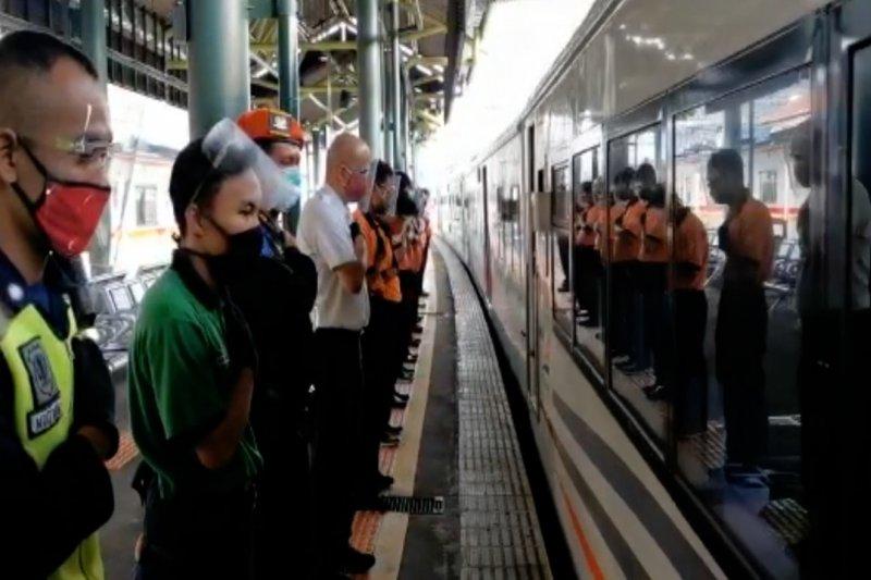 Satpam KAI dilatih utamakan keselamatan penumpang