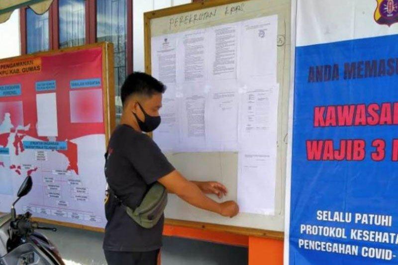 KPU Gunung Mas butuhkan 1.911 orang untuk menjadi anggota KPPS