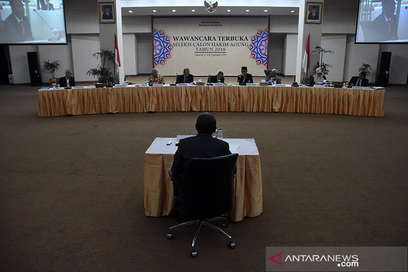 KY: Seleksi kepribadian calon hakim agung digelar secara daring