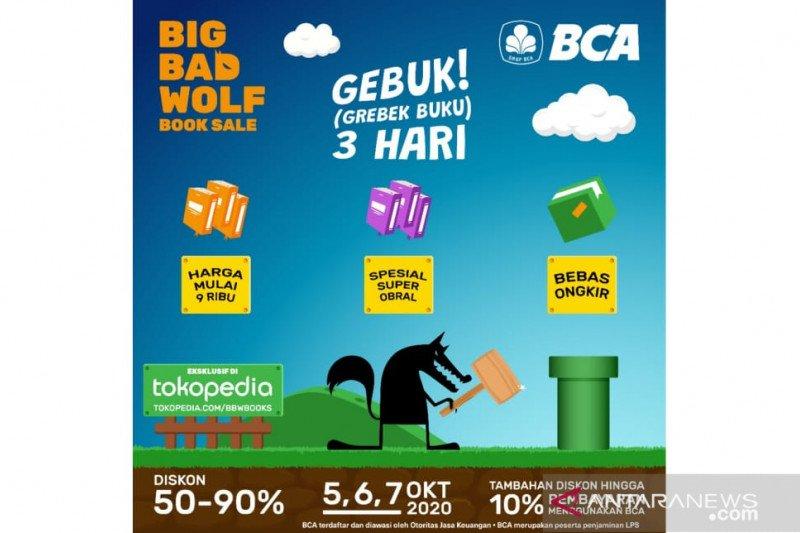 """Beralih ke digital, bazar buku Big Bad Wolf dihelat di """"marketplace"""""""