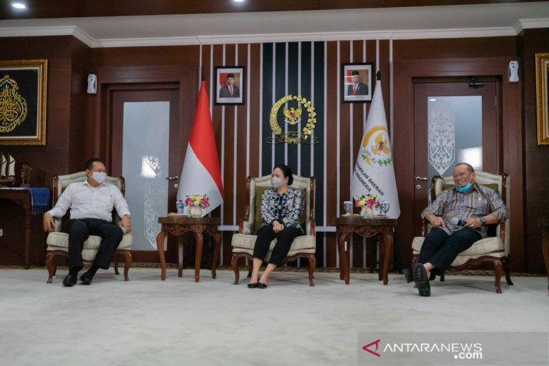 Puan ajak DPD gotong royong jalankan mandat rakyat