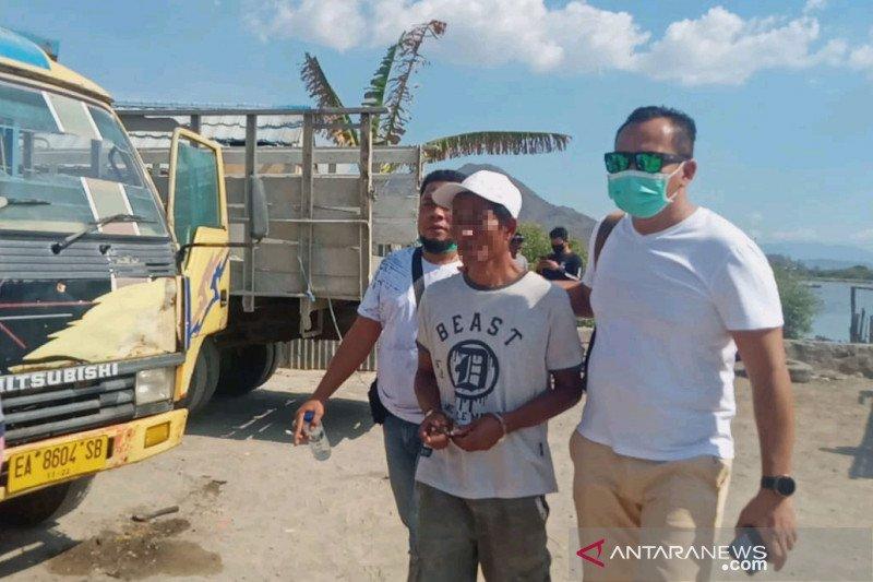 Polda NTB tangkap sopir truk edarkan sabu-sabu di kawasan pelabuhan