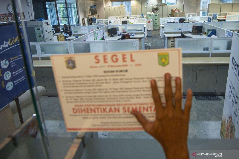 PSBB Transisi, perkantoran Jakarta wajib lapor data pengunjung