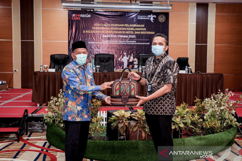 Kemenparekraf dorong industri wisata Aceh sertifikasi Indonesia Care