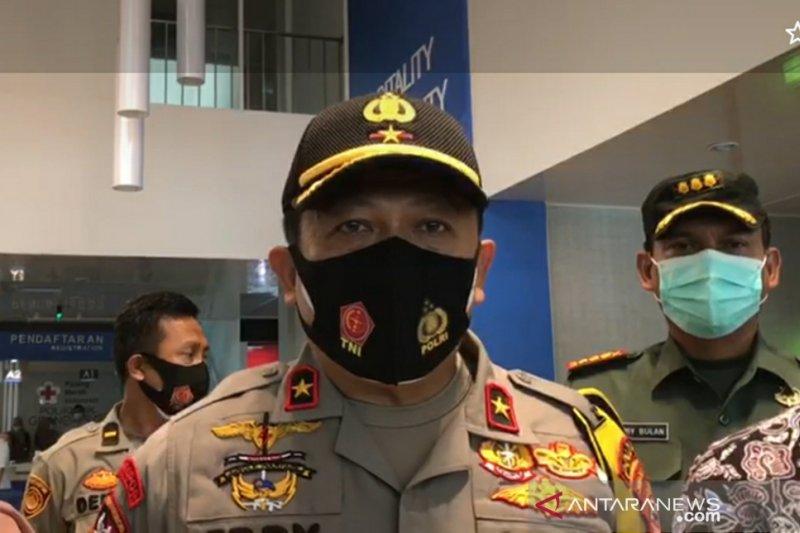 Wakapolda Jabar tinjau penanganan COVID-19 di Kota Bogor