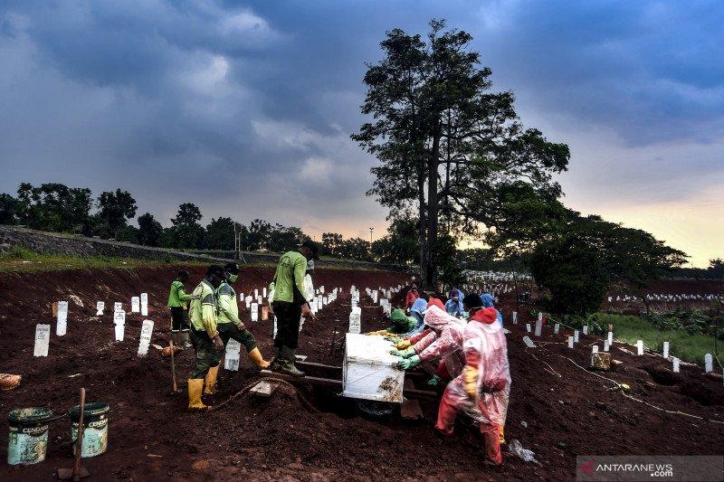 Kematian akibat COVID-19 di Kabupaten Sukabumi bertambah lima kasus