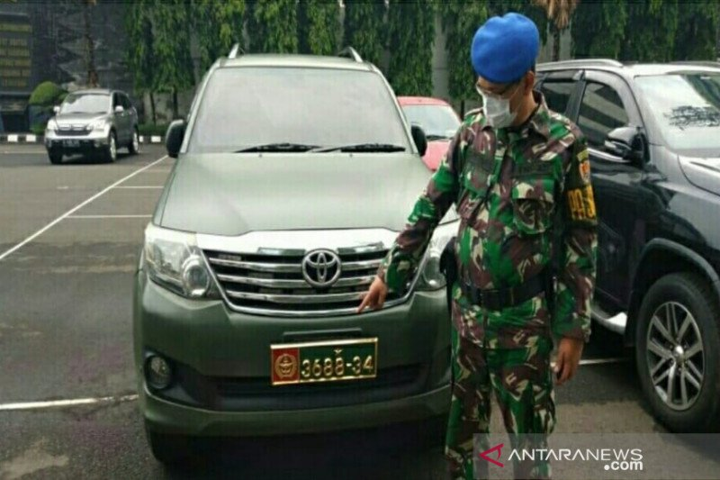 Mobil dinas dipakai warga sipil, Puspomad panggil purnawirawan
