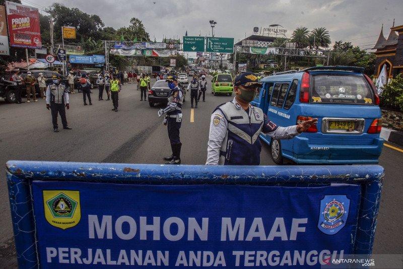 Pembatasan kendaraan kawasan wisata Puncak Bogor