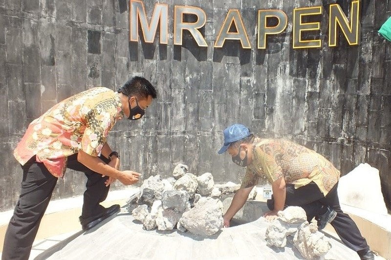 Situs Api Abadi Mrapen yang padam diupayakan untuk diselamatkan