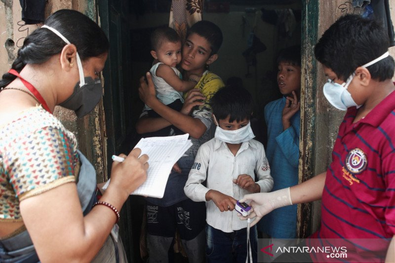India laporkan 73 ribu lebih kasus tambahan COVID-19