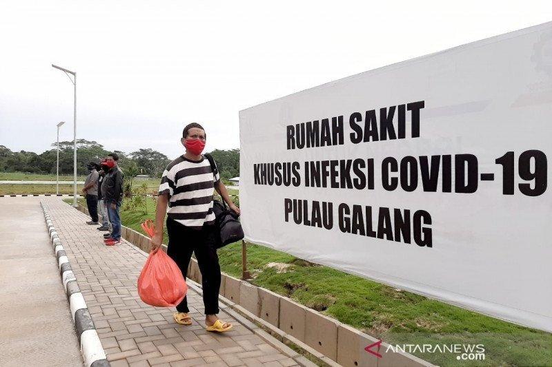 RSKI Pulau Galang rawat inap 335 pasien positif COVID-19