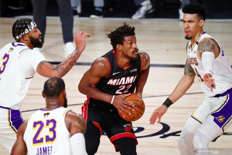 Heat kalahkan Lakers, perkecil defisit Final NBA jadi 1-2