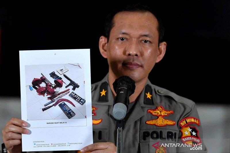 Polri jelaskan peran empat terduga teroris ditangkap Densus di Bekasi