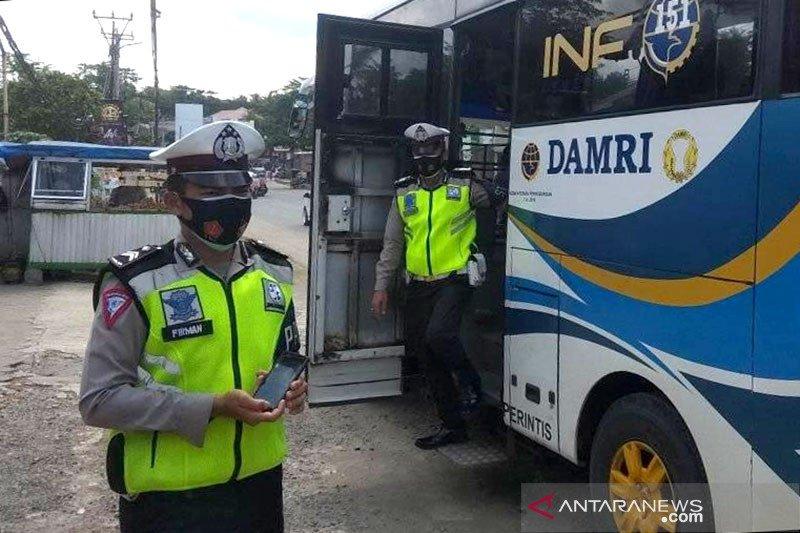 Selama PSBB, titik pemeriksaan di Lebak-Banten diperketat