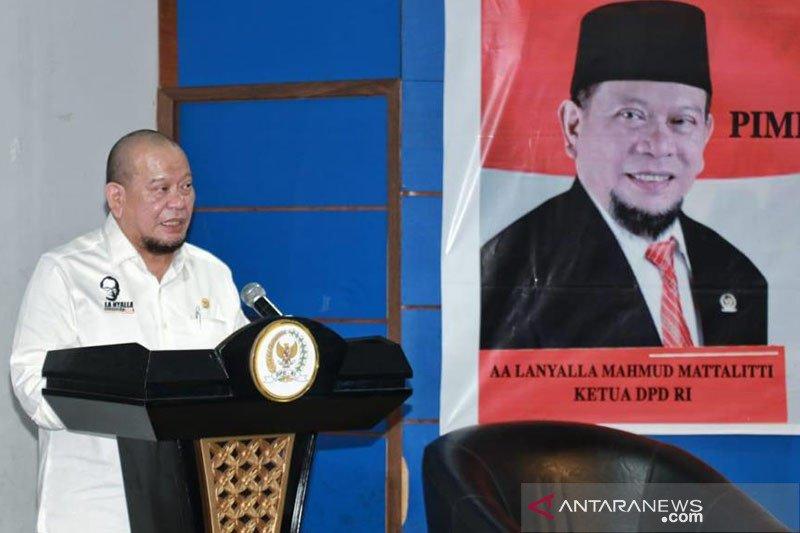 Temui Presiden, DPD bahas dana bagi hasil sawit dan UU produk halal