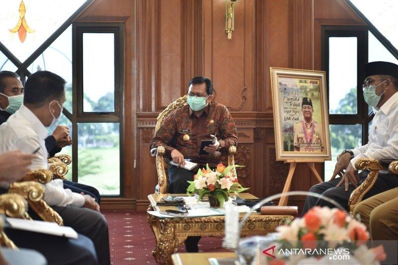 Pjs Gubernur Jambi  akan tambah alat uji swab di RSUD Raden Mattaher
