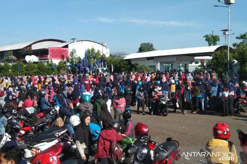 Polres Cianjur turunkan 300 personel amankan aksi ribuan buruh