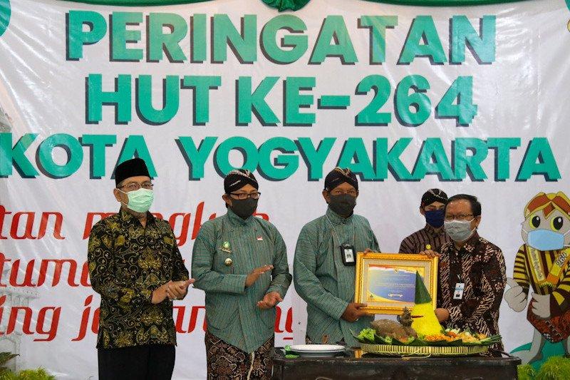 HUT ke-264, Pemkot Yogyakarta dapat WTP dari Kemenkeu