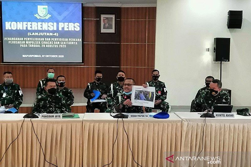 11 oknum TNI AL dan AU terlibat perusakan Mapolsek Ciracas