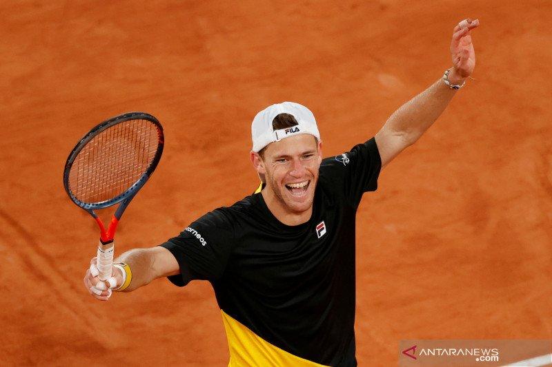Tenis French Open: Schwartzman melaju ke semi final setelah kalahkan Dominic Thiem