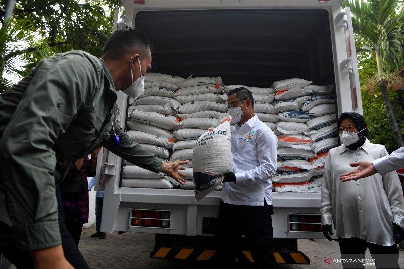 Mensos: Bansos beras sudah tersalurkan 100 persen