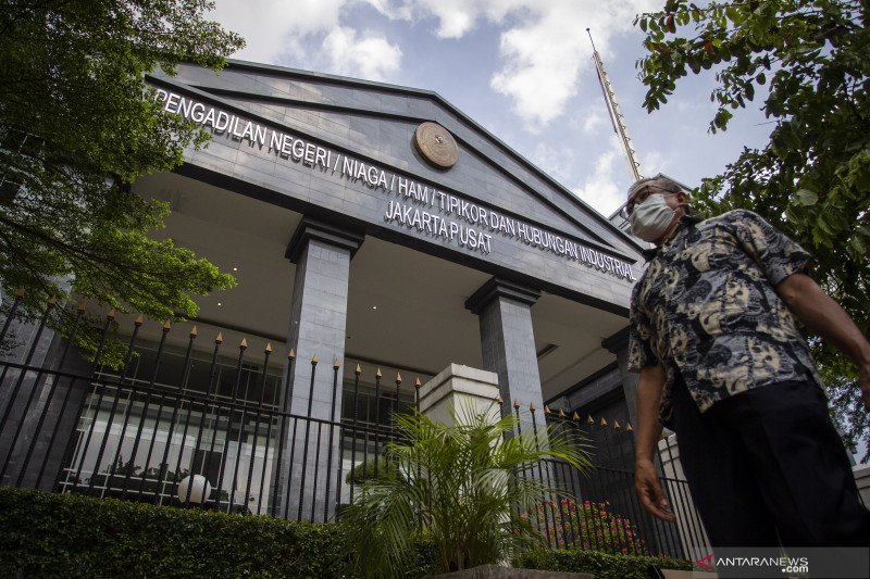 Pengadilan Negeri Jakarta Pusat tutup sementara karena COVID-19