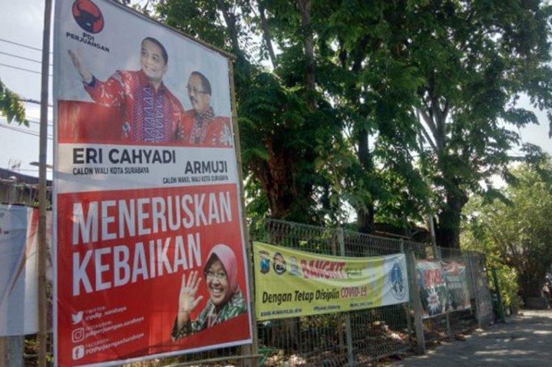 Foto Risma disetujui dipasang di APK Pilkada Surabaya