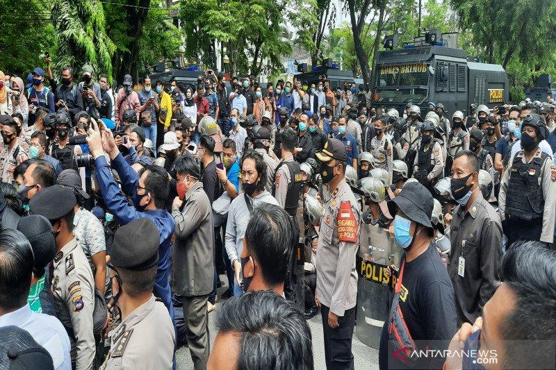 Kapolda Kalsel: Tidak ada anggota bersenjata amankan demo Omnibus Law