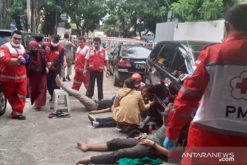 PMI DKI Jakarta bantu pengobatan puluhan pendemo