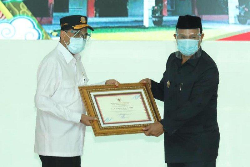Menhub beri penghargaan Wali Kota Madiun terkait SDM perkeretaapian