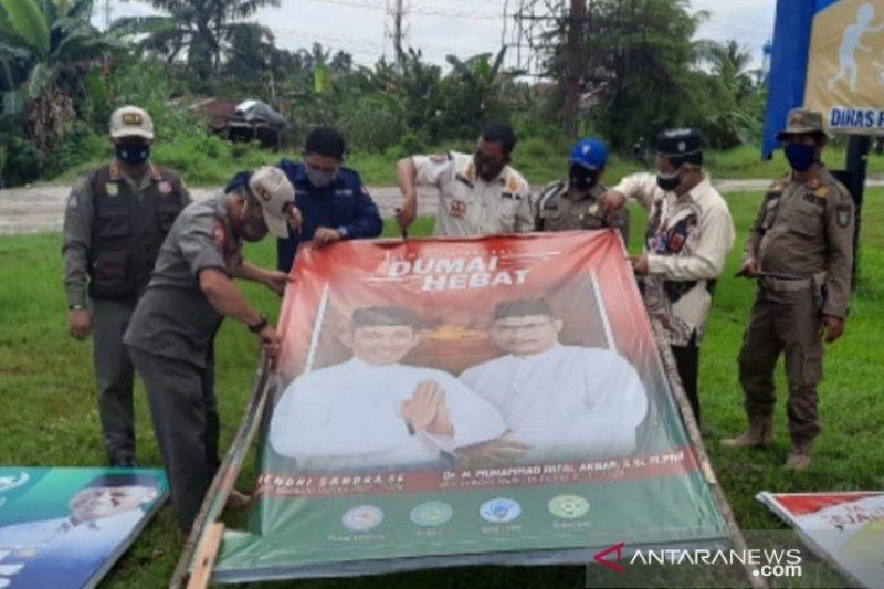 Bawaslu bubarkan dua kampanye Pilkada Serentak 2020 di Riau