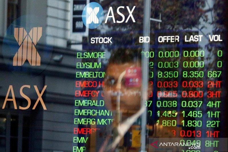 Bursa Australia dibuka melemah terseret saham energi dan perbankan