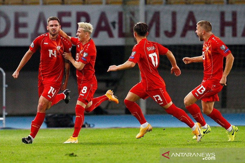 Makedonia tantang Georgia di final playoff EURO Jalur D
