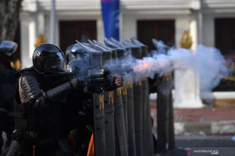 Pemprov Jatim minta polisi cari dalang pengerusakan di sela unjuk rasa