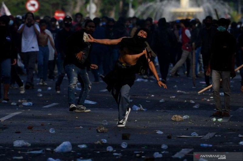Polisi amankan 634 pelaku kerusuhan demonstrasi di Surabaya dan Malang