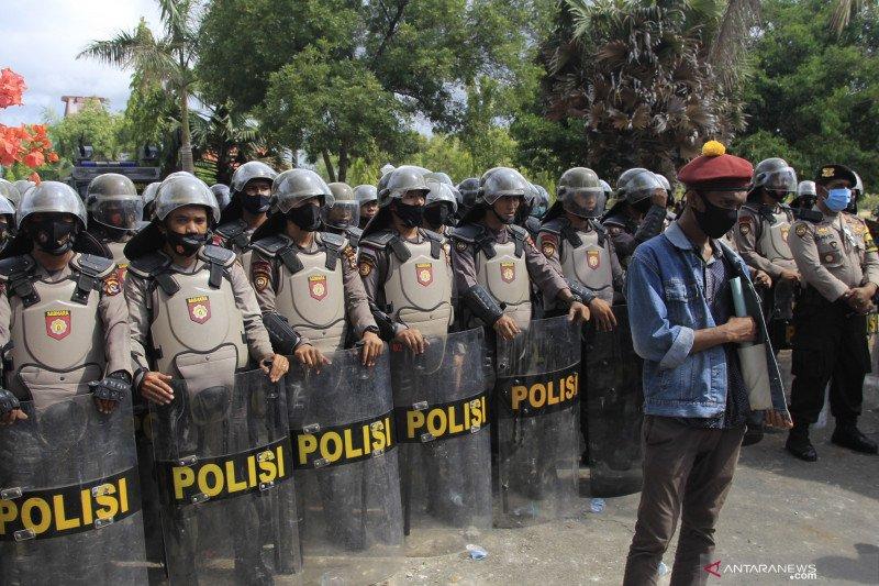 Kapolda apresiasi unjuk rasa di Kupang berlangsung aman