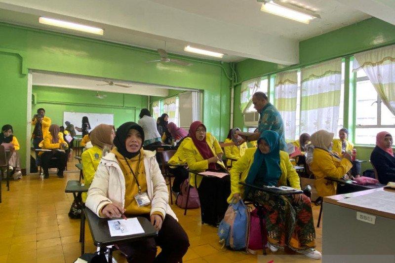 Selama pandemi UT luluskan 50 mahasiswi pekerja migran di Hong Kong