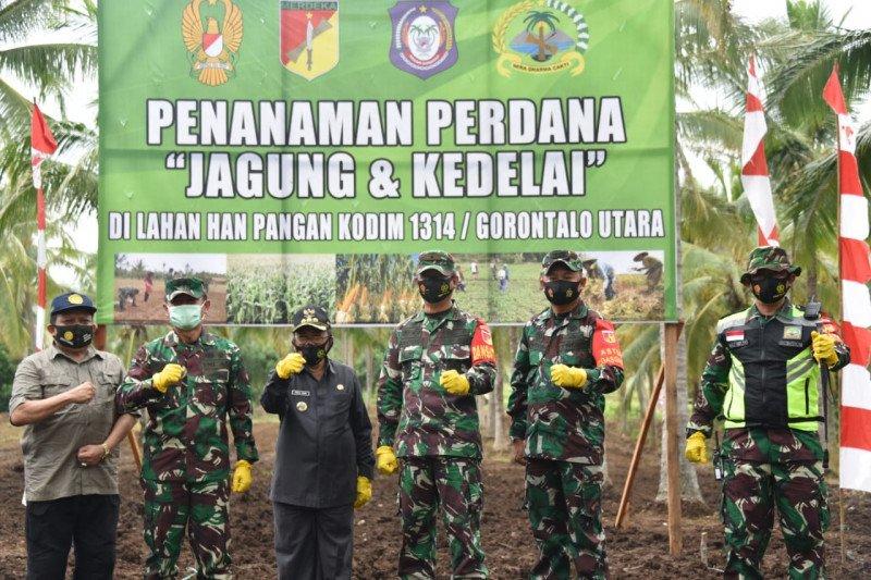 Aster Kasad apresiasi peran Korem 133/NW dalam pengembangan jagung