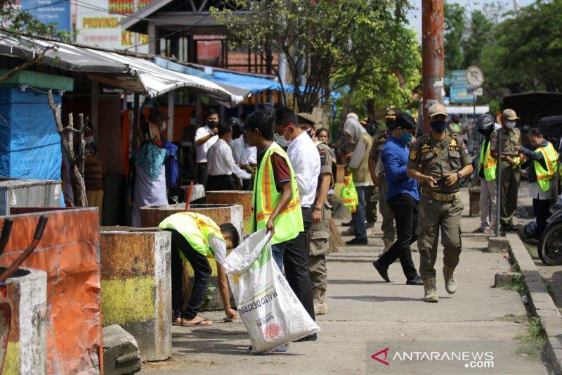 99 warga Padang terjaring razia masker