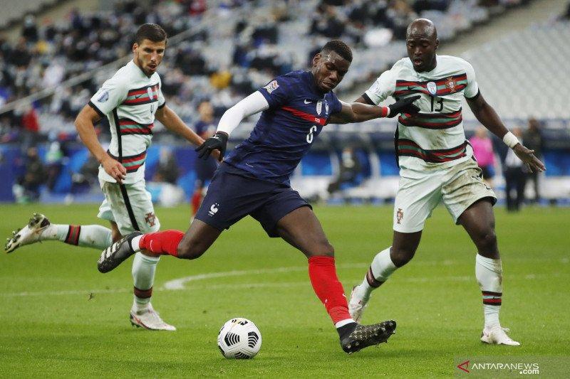 Tidak ada gol tercipta pada pertandingan Prancis kontra Portugal