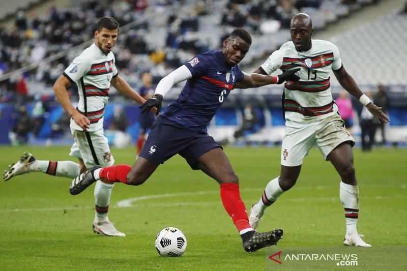 EUFA Nations League : Prancis dan Portugal berakhir seri 0-0