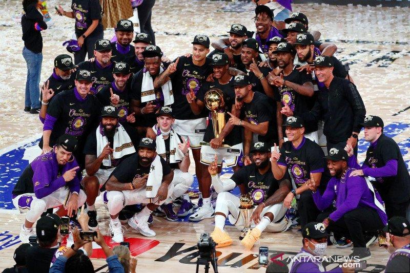 Perjalanan Lakers menuju gelar juara NBA 2020