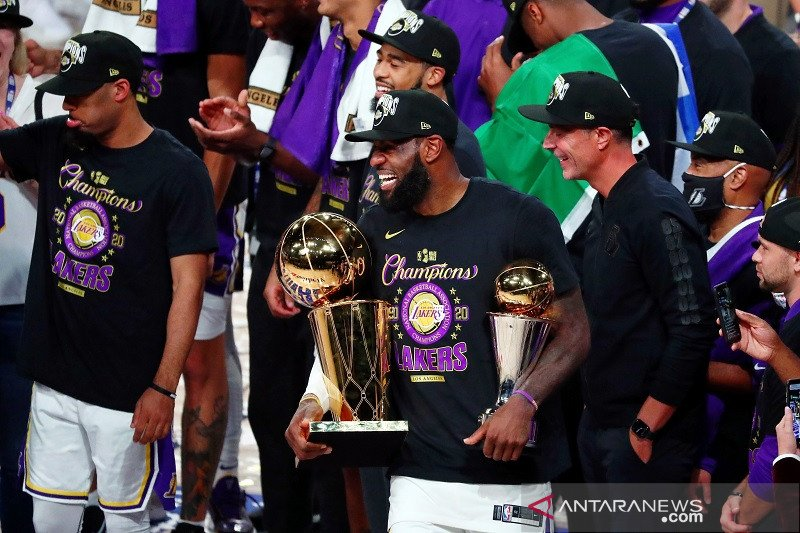 LeBron James menagih penghormatan