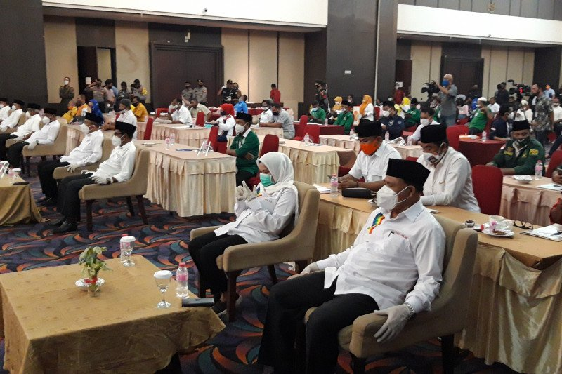 Empat pasangan calon di Ternate sepakati Pilkada tanpa politik uang