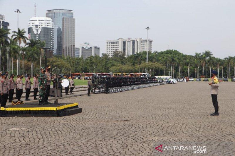 Kemarin, PSBB Transisi hingga tersangka kericuhan Jakarta