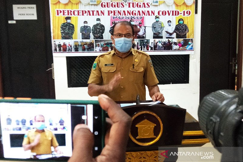 Sorong himpun denda Rp18.650.000 dari pelanggar protokol kesehatan