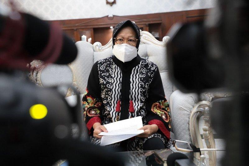 Risma ajak warga Surabaya jaga kondusifitas di tengah pandemi