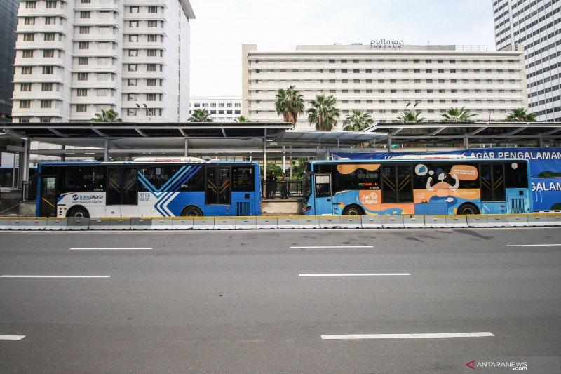 TransJakarta hentikan operasional antisipasi aksi di Istana Merdeka